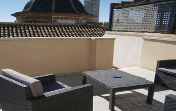 El Carmen aparment Attic 3 rooms + terrace – 90m2