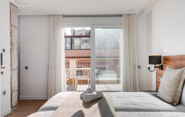 Superior double room with private terrace – 20m2 + 12m2 of terrace